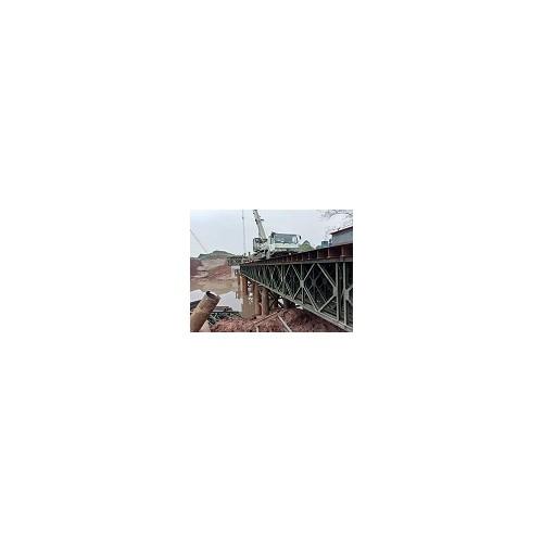 北京钢便桥费用「沧顺路桥工程」贝雷桥/规格多样