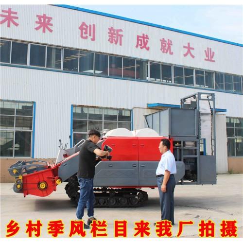 大型勇杰干湿自走式摘果机厂家 自走式花生摘果机 自产自销