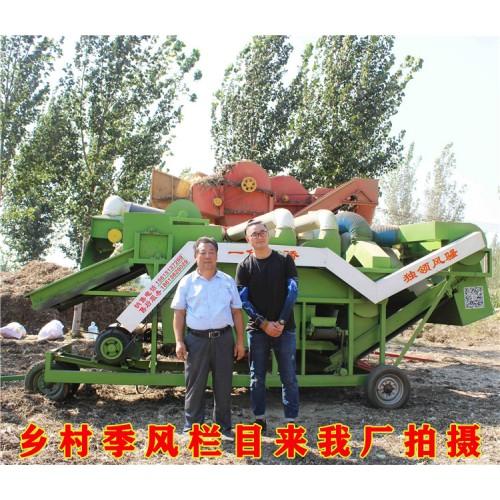 勇杰大型花生秧除膜机厂家 大型秸秆饲料揉丝机 除膜粉碎机