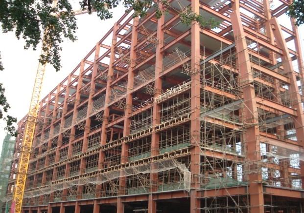 房山钢结构设计施工_北京福鑫腾达彩钢钢构厂家定做钢结构平台