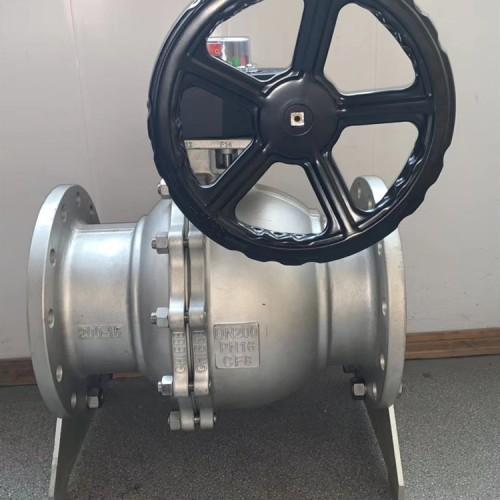 蜗轮不锈钢法兰球阀Q341F-16P
