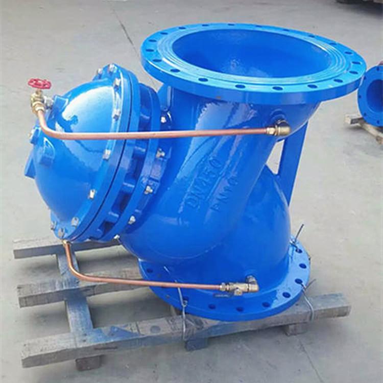 厂家直销JD745X多功能水泵控制阀球墨铸铁多功能水泵控制阀