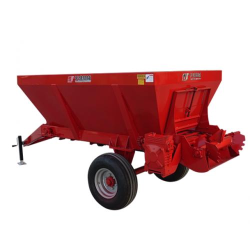 枸杞施肥机甘肃宁夏新疆湿牛粪撒粪机 葡萄园施肥机械