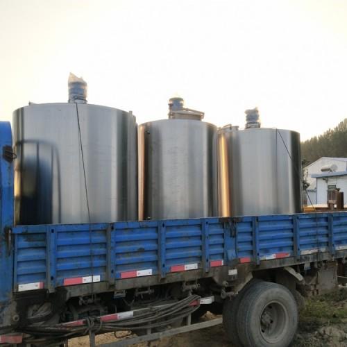 购销4吨二手不锈钢搅拌罐