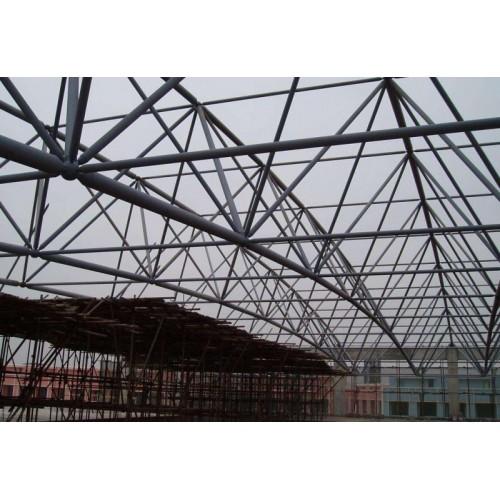 山东烟台网架工程公司-烟台网架加工厂家-烟台螺栓球网架公司-