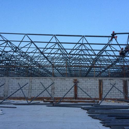 内蒙古包头网架工程公司-包头网架加工厂-包头螺栓球网架公司
