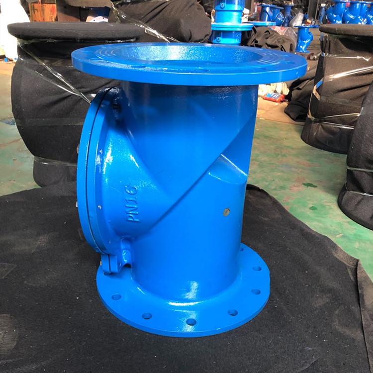 厂家供应 H44X橡胶瓣止回阀 球墨铸铁橡胶瓣止回阀