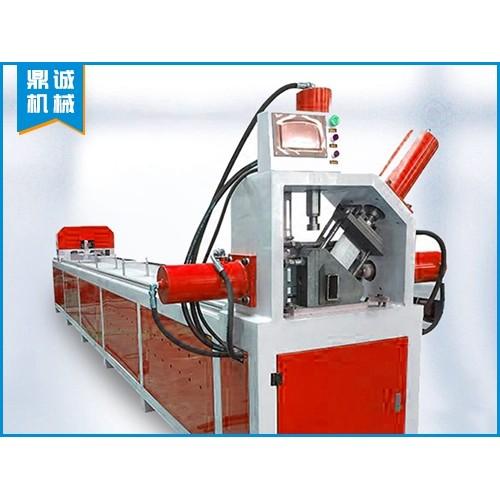 安徽合肥钢管冲孔机「鼎诚机械」全自动钢管冲孔机多少钱