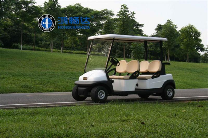 鸿畅达 电动高尔夫球车 高尔夫观光车 4座