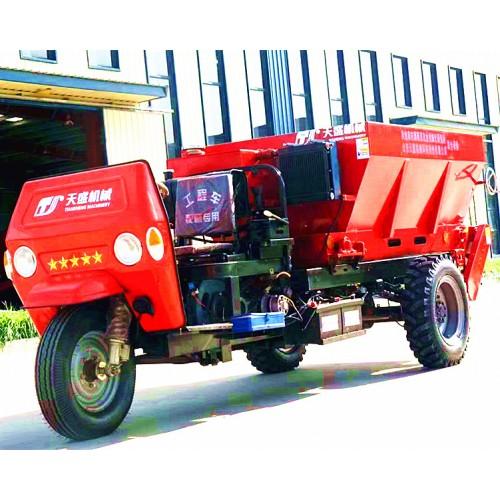 北海撒肥机厂家直销 三轮车扬粪机