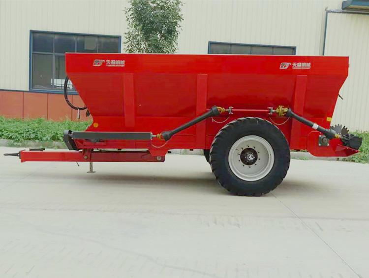 工厂直销黏湿粪肥撒肥机 液压撒粪车