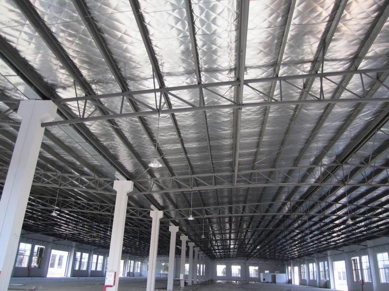 内蒙古彩钢钢构工程北京福鑫腾达 定制钢结构商场、车库出入口