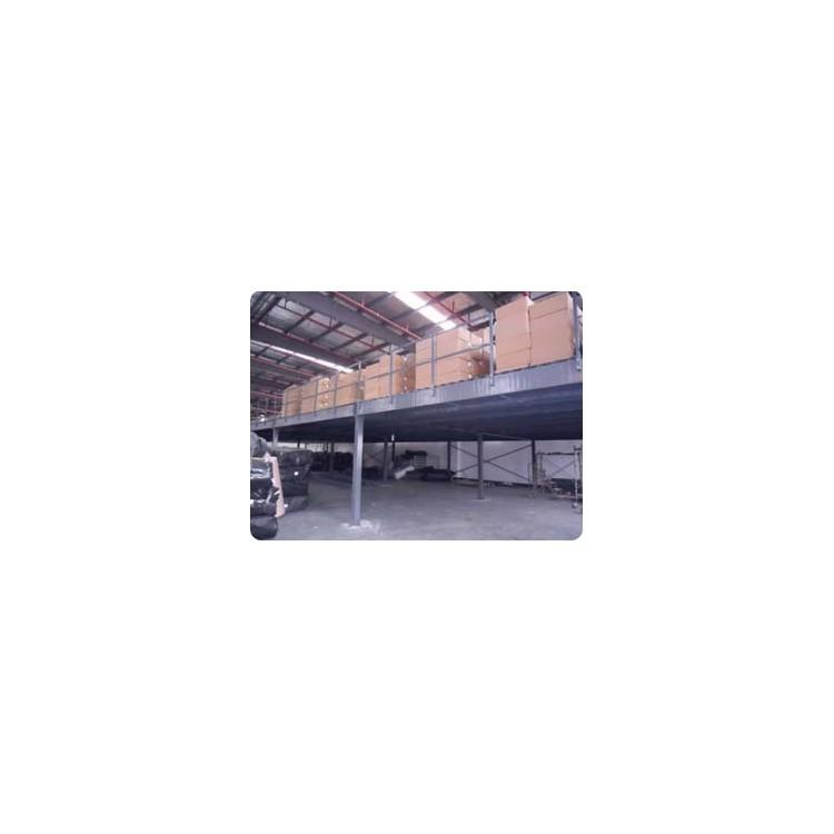 内蒙古钢结构安装企业~福鑫腾达彩钢钢构安装厂家定做钢结构平台