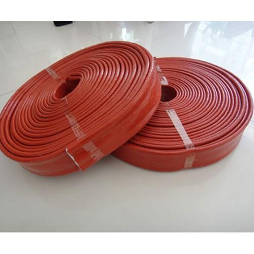 防裂玻纤套管硅胶 玻纤布止滑布硅胶