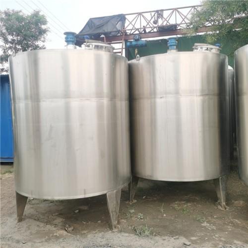 大量出售15吨鲜奶搅拌罐
