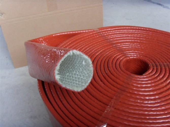 高温玻纤套管硅胶 玻纤布止滑布硅胶