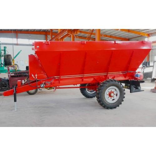 2方液压撒肥机 颗粒肥施肥机 大型农家肥土粪打粪机