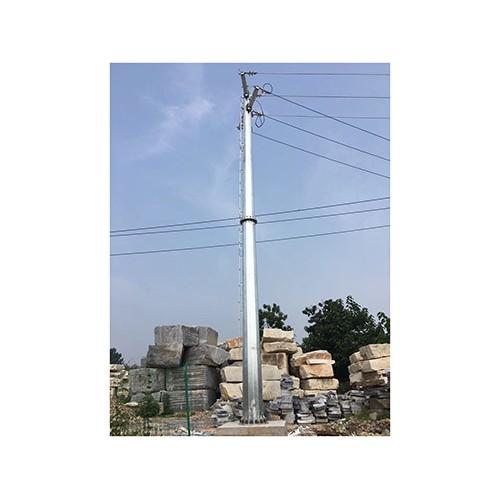 云南昆明电力钢杆「森瑞达钢杆」输变电钢管杆厂家价格