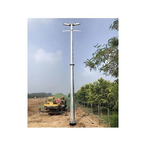 江西南昌电力钢管杆「森瑞达钢杆」输变电钢管杆供应
