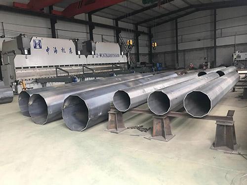 山东济南钢桩基础施工厂家「森瑞达钢杆」电力钢杆售后良好