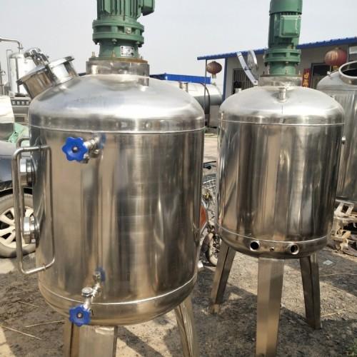 出售1.5吨二手不锈钢液体罐
