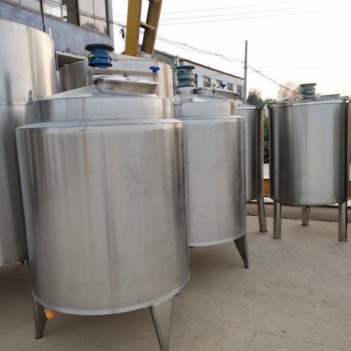 购销3吨二手不锈钢搅拌罐