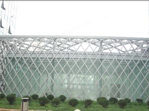 西城钢结构设计企业 福鑫腾达安装施工钢结构商场、车库出入口