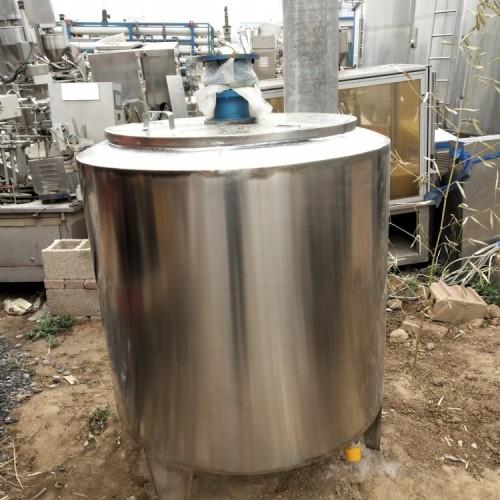 食品2吨电加热酒水罐