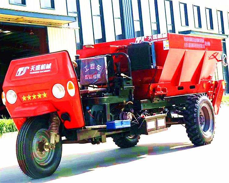 北海有机肥施肥机厂家直供 大棚专用撒粪机价格