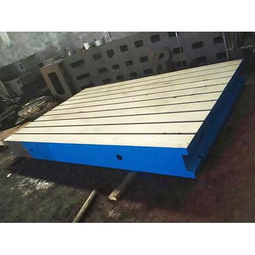 广西南宁铸铁焊接平板「康恒工量具」T型槽平板价格