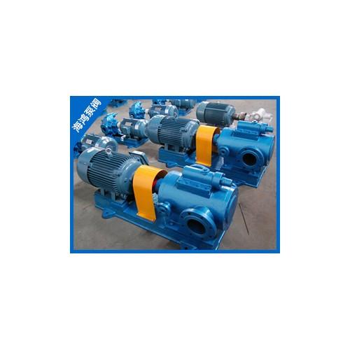 山东双螺杆泵定制加工-海鸿泵业-厂家批发3QGB螺杆沥青泵