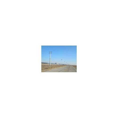 新疆输变电钢管杆「森瑞达钢杆」电力钢管杆-厂家价格