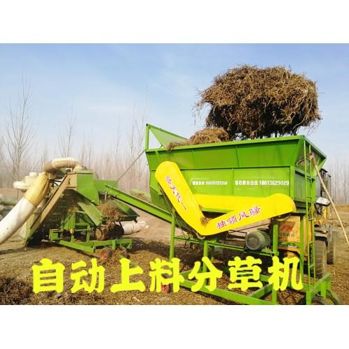 上料分草机厂家 全自动上料分草设备 无需人工 可接除膜机