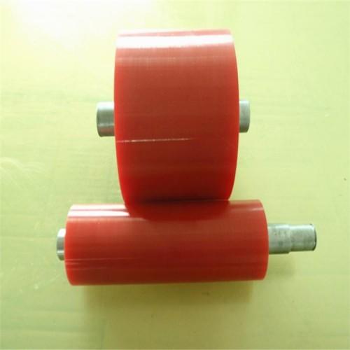 实体厂家直销 工业橡胶托辊 聚氨酯胶轮 聚氨酯橡胶减震垫块