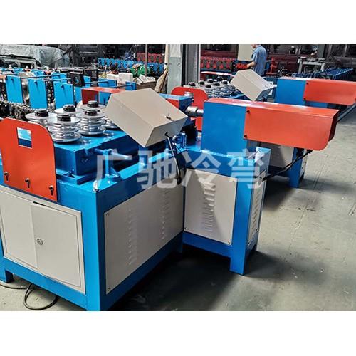 内蒙古大棚弯弧机生产 广驰农业科技加工订制大棚弯管机