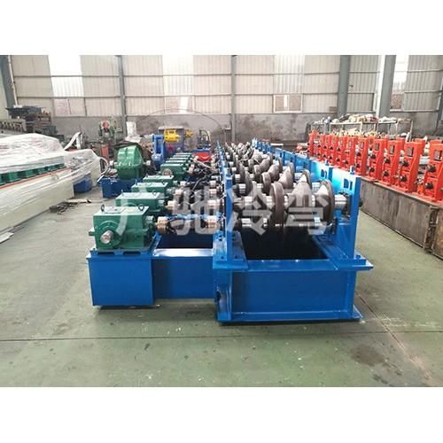 广西护栏板矫正修复机生产_东光广驰来图加工护栏板整形机