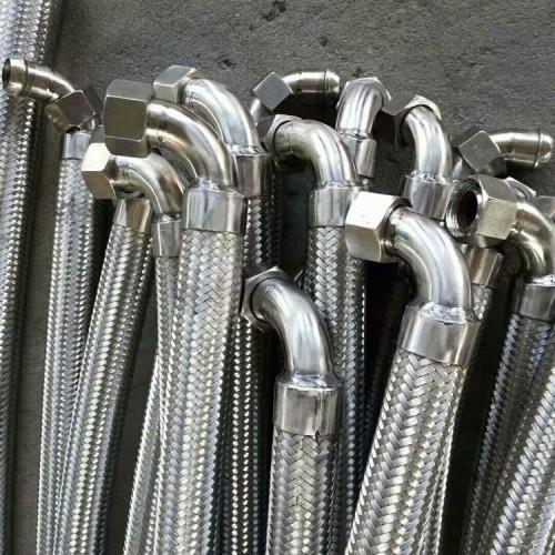 现货供应 消防注水金属软管 不锈钢编织波纹软管