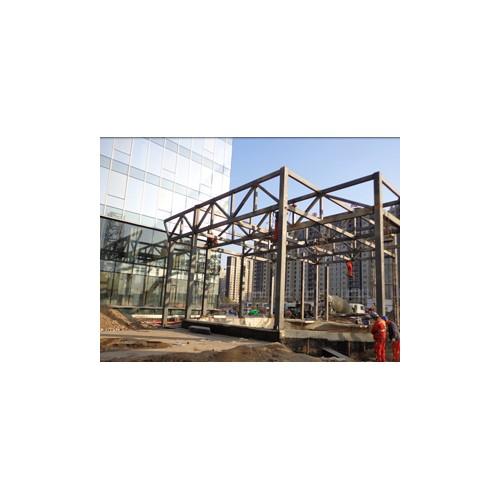 北京钢结构制作厂家~北京福鑫腾达定做钢结构商场、车库出入口