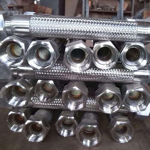 供应 耐酸碱耐高温金属软管 防爆天然气金属软管 不锈钢软管