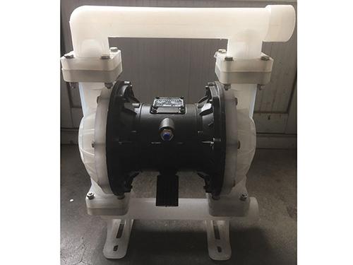 辽宁矿用气动隔膜泵加工/泊头鑫达泵业厂家加工塑料气动隔膜泵