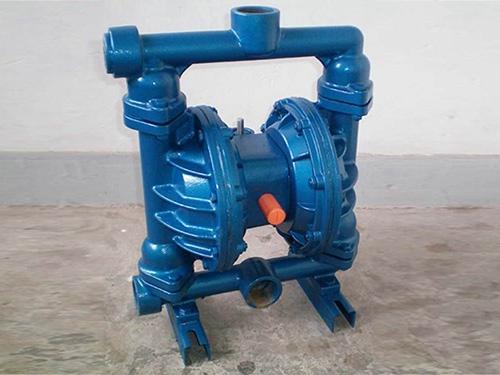 湖南矿用气动隔膜泵厂家/泊头鑫达公司厂家加工气动隔膜泵