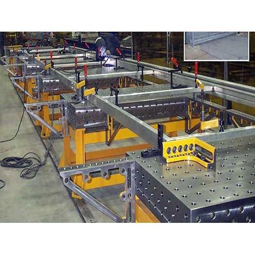 陕西三维柔性焊接平台制造商/久丰量具售后完善