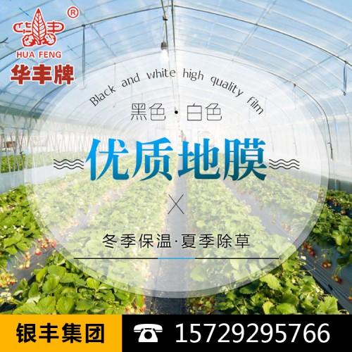 农业白色地膜保温保湿农用膜吹塑膜白地膜黑地膜果园蔬菜大棚薄膜