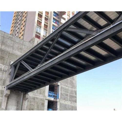 北京通州彩钢钢构工程企业~福鑫腾达彩钢厂家定制钢结构连廊
