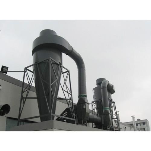 山西太原YDT型圆体多管陶瓷除尘器|正威|生产厂家制造