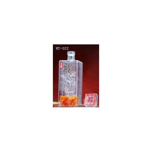 河北手工艺酒瓶~宏艺玻璃公司~接受订制工艺酒瓶
