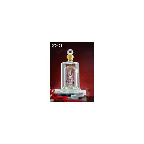 辽宁玻璃工艺酒瓶|宏艺玻璃|承接定制手工艺玻璃酒瓶