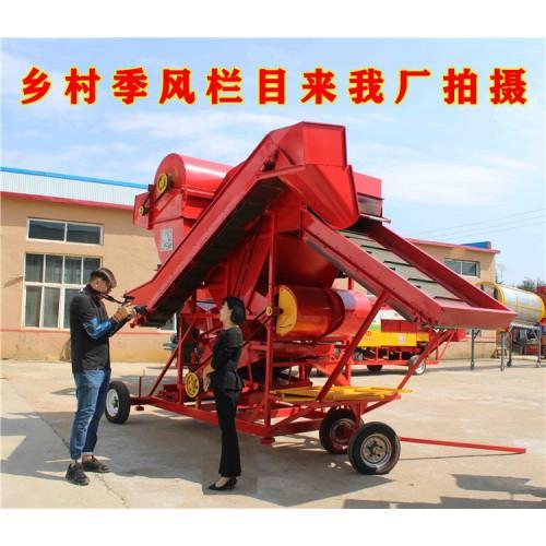 大型花生摘果机 自走式花生摘果机厂家自动装袋花生摘果机