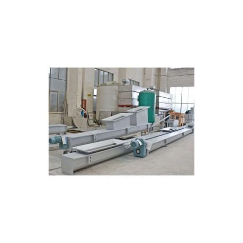 河南新乡无轴双轴角度不锈钢螺旋输送机|正域环保|工厂定制