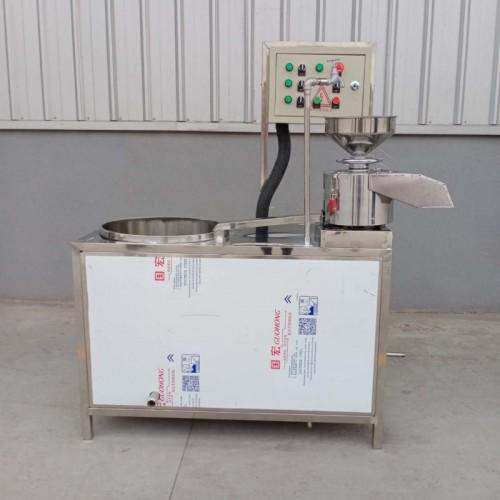 小型一磨一桶豆浆机  配合小型生产线使用 特点豆腐机